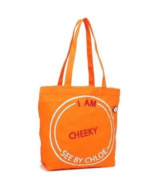 シーバイクロエ トートバッグ レディース SEE BY CHLOE CHS18AS160466 868 オレンジ