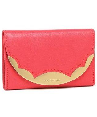 シーバイクロエ 折財布 レディース SEE BY CHLOE CHS19SP830 388 6X7 ピンク