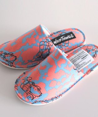 【GO OUT 11月号掲載】WILDTHINGS × GASIUS FABRICK/ワイルドシングス × ガシアス ファブリック SLIPPERS スリッパ