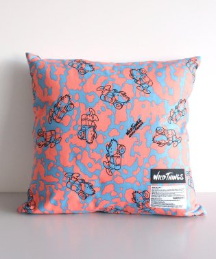 WILDTHINGS × GASIUS FABRICK/ワイルドシングス × ガシアス ファブリック SQUARE CUSHION COVER+PILLOW