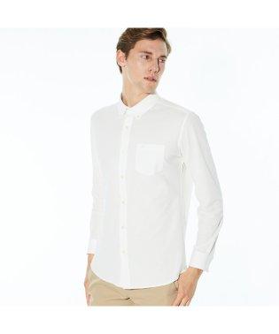 高機能鹿の子地ボタンダウンシャツ