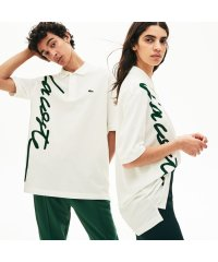 『LACOSTE L!VE』ビッグネームプリントポロ