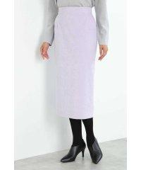 ◆細コールロングタイトスカート