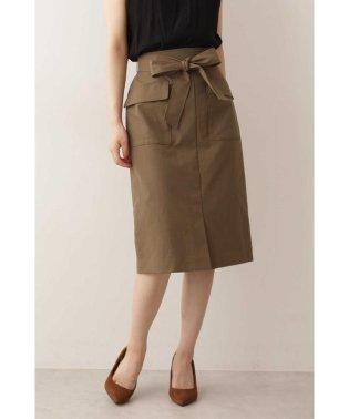 リボンワークカーゴスカート
