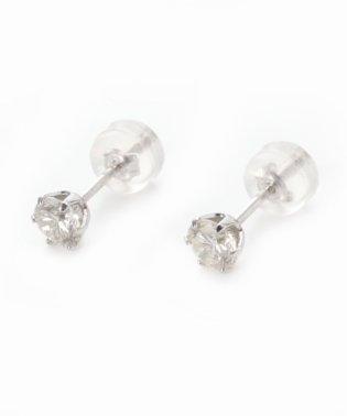 PT 0.5ct ダイヤモンド ピアス