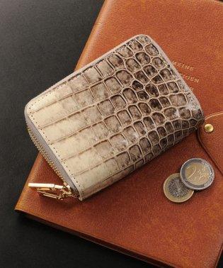 ヒマラヤクロコダイルレザーミニ財布