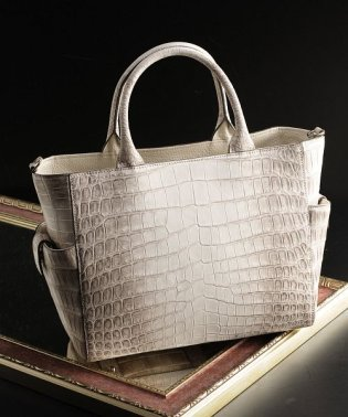 ヒマラヤクロコダイルレザーハンドバッグ