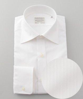 【形態安定】PREMIUMPLEATS ドレスシャツ / ドビーストライプ