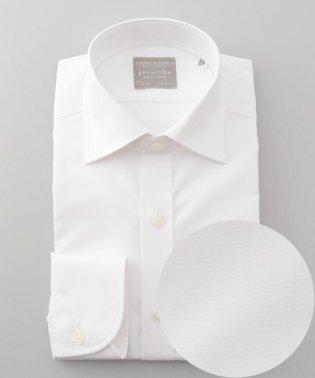 【形態安定】【SLIMFIT】PREMIUMPLEATS ドレスシャツ / 無地