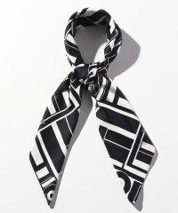 ジオメトリックプリント スカーフ