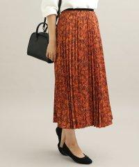 【ViS meets泉里香】プリントアコーディオンプリーツスカート