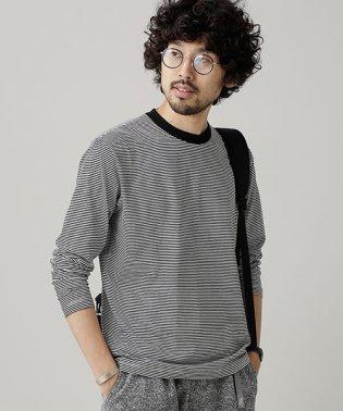 ファインボーダークルーネックTシャツ L/S
