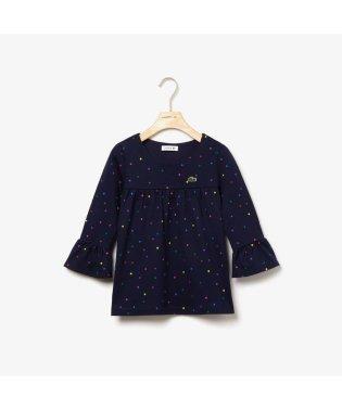 GIRLSマルチカラーポルカドットロングスリーブTシャツ