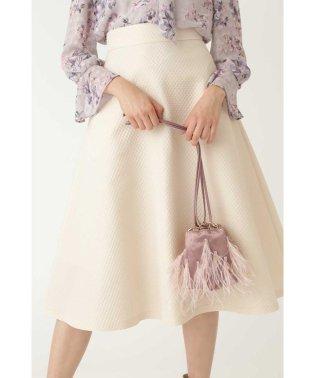 ◆フェザー巾着ショルダーバッグ