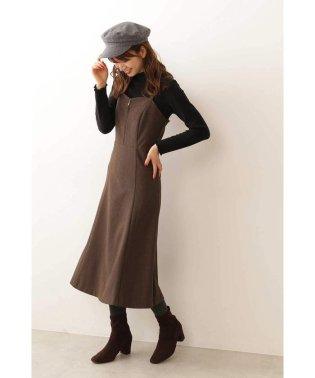 ◆ロングキャミジャンパースカート