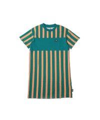 プーマ ダウンタウン ストライプ ドレス