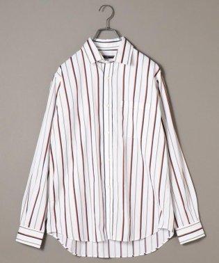 SU: ビッグシルエット レギュラーカラー シャツ