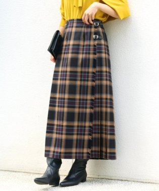 【O'neil of Dublin/オニールオブダブリン】CHECK マキシキルトスカート◆