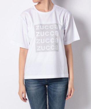 ZUCCa / スタッズロゴTシャツ / Tシャツ