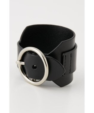 BIG O LEATHER BANGLE