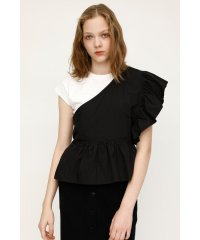 ONESHOULDER DOCKING FRILL TOPS