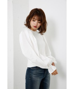 Shirt SLV Combi KNIT TOP