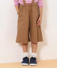 【110-130cm】2WAY リボンポケット ガウチョ サロペット