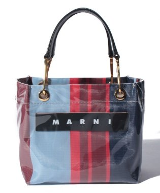 【MARNI】トートバッグ/SMALL SQUARE GRIP BAG 【LACQUER】