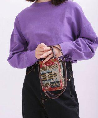 【VERY 12月号掲載】【MIHO NOJIRI × nano・universe】PENDLETON/別注2wayミニバッグ
