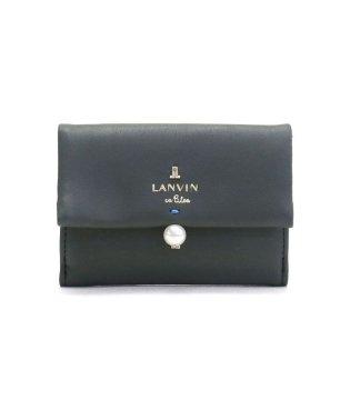 ランバンオンブルー LANVIN en Bleu シャペル 三つ折り財布 482014