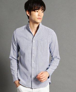 ショートイタリアンカラー長袖シャツ
