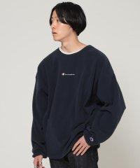 Champion × BEAMS / 別注 POLARTEC フリース クルーネック スウェットシャツ