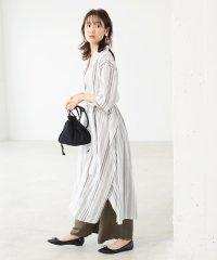 ★【WEB限定】ボリュームシルエットロングシャツワンピース