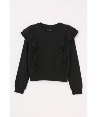 frill shoulder sweat TOP-R