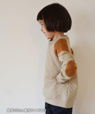 【定番人気・coen キッズ / ジュニア】キルティングクスウェット/トレーナー