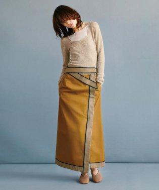 RBS / カラーブロック ラップスカート