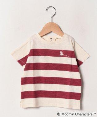【ムーミン】ボーダープリントTシャツ