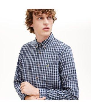 オックスフォードチェックボタンダウンシャツ