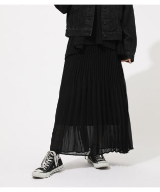 IRREGULAR PLEAT SKIRT