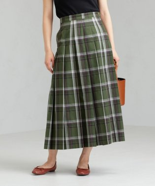 SC チェック プリーツ スカート