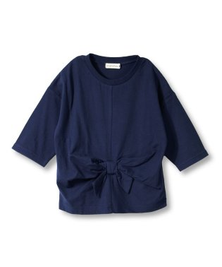 ウエストリボン7分袖Tシャツ(80~150cm)