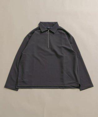 TRPUハーフジップシャツ