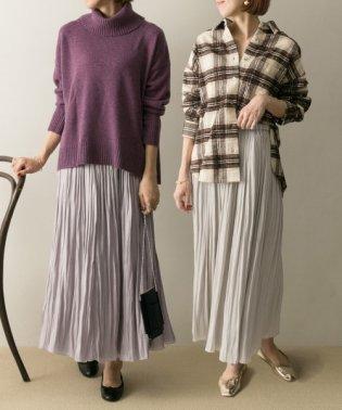 【予約】プリーツギャザーリバースカート