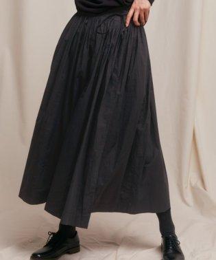 siiwa インドギャザーラップスカート