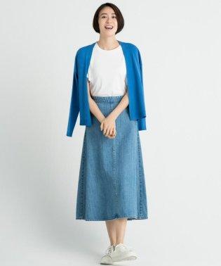 【洗える】DENIM デニムスカート
