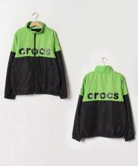 CROCS切り替えジップジャケット