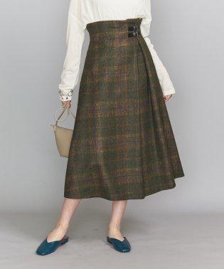 <O'NEIL of DUBLIN>Aラインバックルスカート