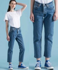 501(R) CROP LMC DUNE BLUE STRETCH