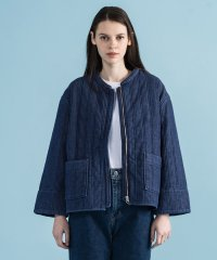 LMC W QUILTED DENIM JKT LMC QUILTED_DENI