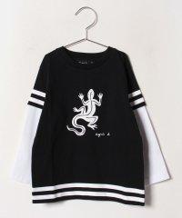 SCN3 E TS キッズ スポーティーレザールTシャツ